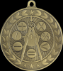 Illusion Academic Math Medals Illusion Medal Awards