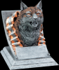 Bobcat Mascot Mascot Resin Trophy Awards