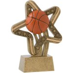 Basketball Stars & Stripes Basketball Trophy Awards