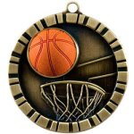 Basketball 3-D Basketball Trophy Awards