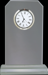 Clipped Corners Clear Glass Clock Boss Gift Awards