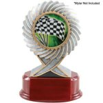2 Insert Holder, Motion Resin Car/Automobile Trophy Awards