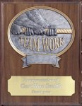 Teamwork Resin Plaque Mount Award Economy Plaque Awards