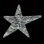Star Pewter Accent Employee Awards