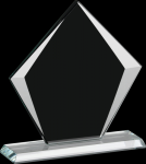 Corporate Sable Diamond Glass Award Employee Awards