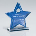 Star Double Layer Cutout on Base Employee Awards