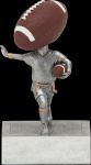 Flag Football Bobble Head Football Trophy Awards