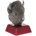 Buffalo Resin Mascot Resin Trophy Awards