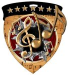 Music Medal Music Trophy Awards