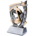 3D Resin Music Music Trophy Awards