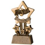 Music Star Resin Music Trophy Awards