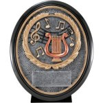 Music Resin Oval Oval Resin Trophy Awards