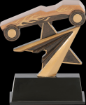 Star Power Pinewood Derby Award Racing Trophy Awards