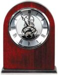 Rosewood Piano Finish Arch Clock Sales Awards