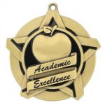 Academic Excellence Super Star Medal Scholastic Trophy Awards