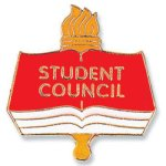 Student Council Lapel Pin Scholastic Trophy Awards