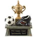 Vintage Trophy Award Soccer Soccer Trophy Awards