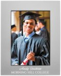 Anodized Aluminum Picture Frame-Gray Square Rectangle Awards