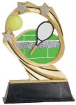 Tennis Cosmic Resin Trophy Tennis Trophy Awards